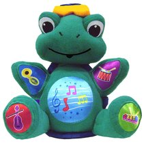 Baby Einstein Press and Play Pal Neptune Musical Turtle Plush Toy - $29.90