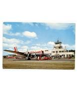 Grand Rapids Airport Plane Kent County Michigan postcard - $5.89