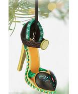 Disney Anna Runway Shoe Christmas Ornament Theme Parks  - $69.95
