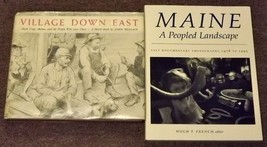 2 books Village Down East by John Wallace and Maine a Peopled Landscape - $8.99