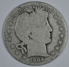 1904 O Barber circulated silver half  - $16.50