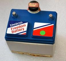 AC Delco Battery Jim Beam Whiskey Bottle (Empty) - $30.76