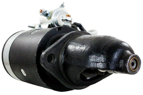 NEW STARTER MOTOR FITS INTERNATIONAL FARMALL TRACTOR 140HC 240 GAS C-123 ENGI...