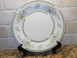 "Royal Doulton H5081 Romance Collection Adrienne 10 5/8"" Dinner Plate 2nd - $15.83"