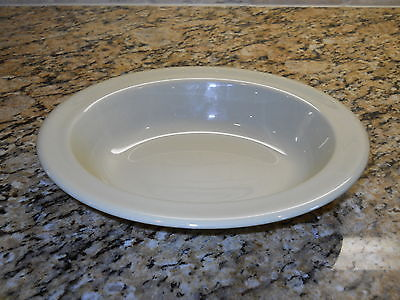 "Primary image for Wedgwood China Drabware 10"" Oval Serving Bowl OLDER"