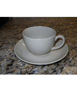 "Wedgwood China Drabware 2 3/8"" Cup and Saucer Set OLDER - $22.76"