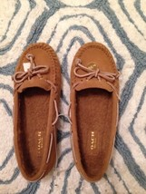Coach Flats In Wool Tan Color Size 8 - $64.35