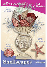 Anita Goodesign - Shellscapes - $26.08