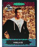 1991 ProSet MusiCards - YO! MTV RAPS - VANILLA ICE (Card# 91) - $5.00