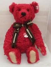 """Steiff Teddy Bear Miki House 30th 2001 13.7"""" Doll Japan 1500 Limited Red... - $263.99"""