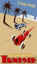 Grand Prix Tunisie - May 5, 1935 -Magnet - $5.99