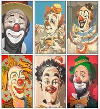 6 Clown Magnets - $16.99