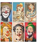 6 Clown Magnets - $16.99
