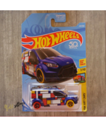 2018 Hot Wheels Ford Transit Connect #224 HW Art Cars - $1.20