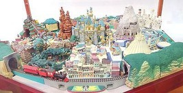 My Disneyland Diorama Complete Model set +Display Case MiniatureJapan De... - $2,175.03