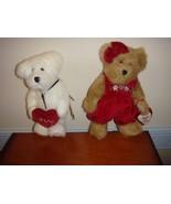 Boyds Bears Plush Miss Hugaby And Ido Loveya Bears - $19.99