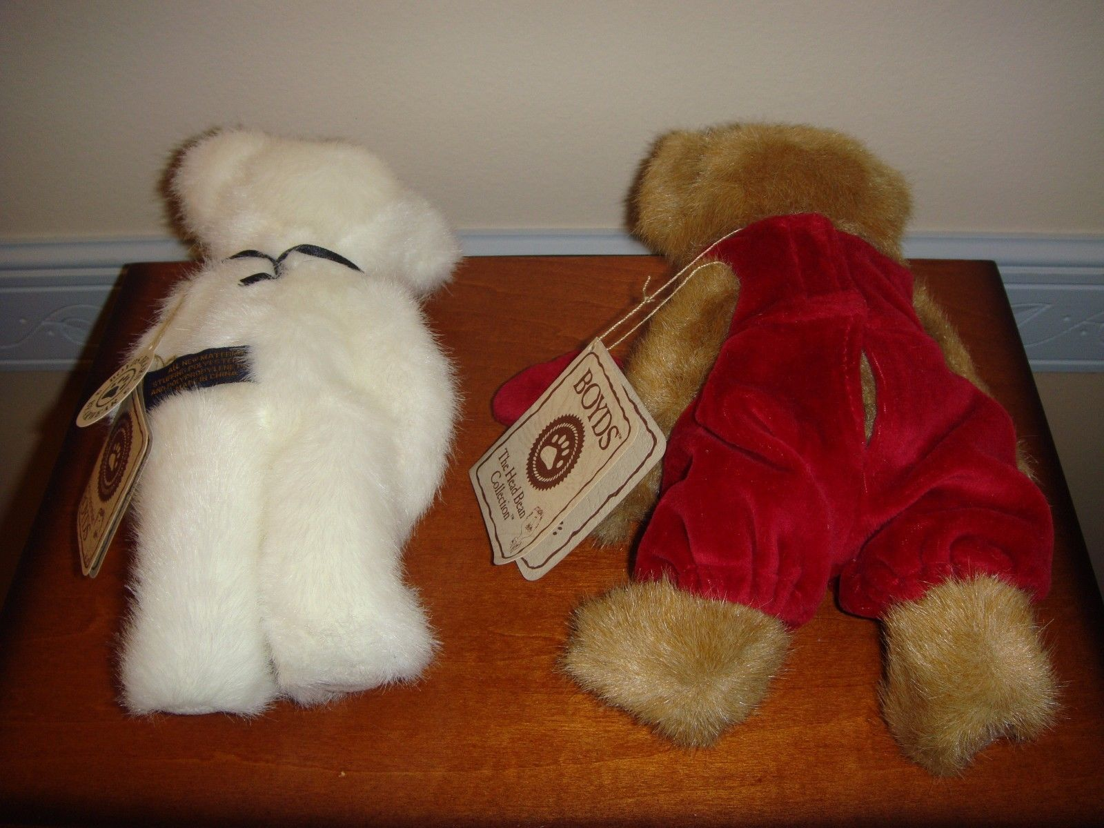 Boyds Bears Plush Miss Hugaby And Ido Loveya Bears