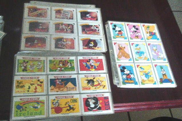 Disney Mickey Mouse Complete Set! Favorite Stories, Family Portraits, World Tour