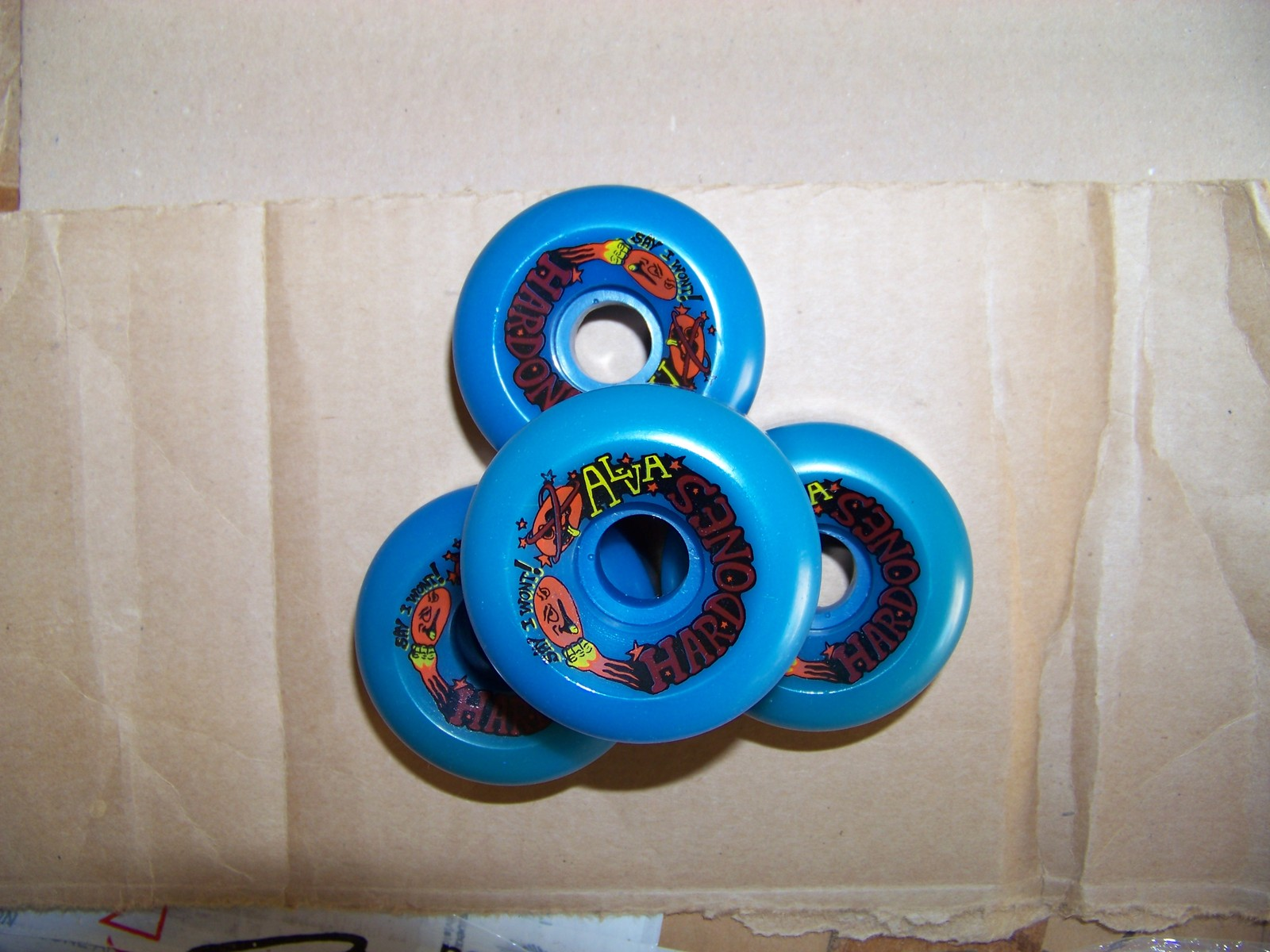 Vintage Alva Wheels. Mint. Only for true collectors of skateboard!