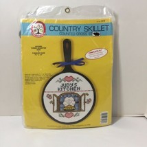 """Country Skillet Counted Cross Stitch Kit Colortex 7.5"""" x 12"""" Kitchen - $9.74"""