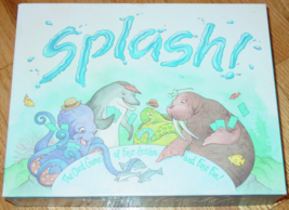 SPLASH CARD GAME 1993 GREAT AMERICAN PUZZLE FACTORY #775 COMPLETE VERY GOOD - $10.00