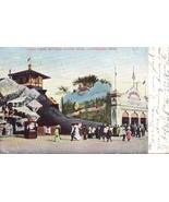 Cleveland OH Ohio Vintage Postcard Luna Park Mother Goose Shoe 1906 Undivided - $3.87