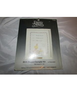 Precious moments sampler kit Baby Birth record announcement Paragon crea... - $9.89