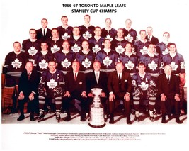 TORONTO MAPLE LEAFS 1966-67 TEAM 8X10 PHOTO HOCKEY PICTURE NHL - $3.95