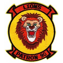 US Navy PATRON 90 Aviation Patrol Squadron Ninety Patch - $9.97