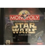 Monopoly Star Wars CD-ROM Edition Win 95 PC Game-TESTED-RARE VINTAGE-SHI... - $15.72