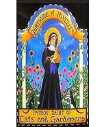 Saint Gertrude of Nivelles Patron of Cats Magnet #2 - $4.99
