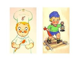 2 Campbell's Soup Kids Magnets - $12.99