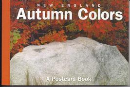 New England AUTUMN COLORS A Postcard Book 2003 - $54.95
