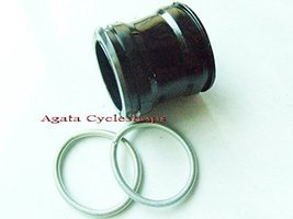 Honda C200 C201 CA200 CD90 Air cleaner connecting tube with band New - $12.73