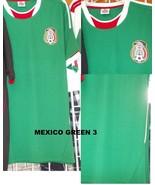 Mexico short sleeve soccer jersey Green Mexico ... - $26.59