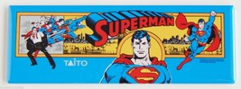 Superman Marquee FRIDGE MAGNET arcade video gam... - $6.50