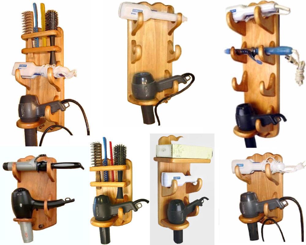 Hair caddy Flat Iron Curling Iron Hair Dryer Holder - Bath ...