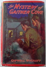 The Mystery at Gaither Cove gray hardcover dj Capwell Wyckoff Saalfield ... - $23.00