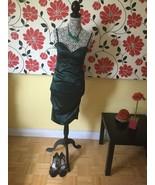 Dark Green dress, size M - $15.00