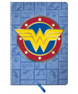 Wonder Woman 19046 Comic Hardcover 128 Page Lined Journal Notebook 5.75 ... - $19.79