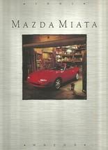 1991 Mazda MX-5 MIATA sales brochure catalog 2nd Edition US 91 - $10.00