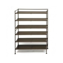 Shoe Rack Organizer Stackable Tower Stand Close... - $71.98