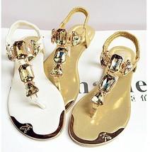 New Women's Shoes Platform Flats Metal Head Rhi... - $29.00
