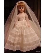 "17"" Madame Alexander ""MA Elise"" Bride Doll 1980's - $168.25"