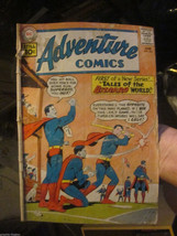 Adventure Comics #285 low grade complete DC COMICS 1st Bizzaro 1961 Silver Age - $39.00