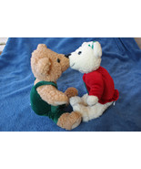 Hallmark Magnetic Kissing Bears with Snowflakes on Outfits - $9.99