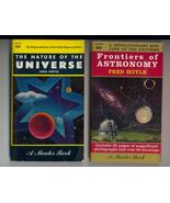 2 Early Astronomy Books by Fred Hoyle--illustrated - $7.00
