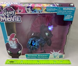 "My Little Pony Tempest Shadow Lightning Glow Light-up Large 6"" Brushable... - $30.00"