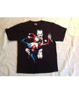 Vintage Joker Harley Quinn T Shirt DC Comics Batman Retro Mens Size Large - $8.90