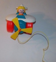 Vintage Fisher Price Airplane Plane Pull Toy #2... - $19.99